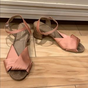 Anthropologie Coral Sandals Size 7